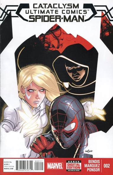 Cataclysm Ultimate Comics Spider-Man #2 cover
