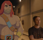 "SON OF ZORN:  L-R:  Zorn (voiced by Jason Sudeikis) and Johnny Pemberton in the ""The Weekend Warrior"" episode of SON OF ZORN airing Sunday, Oct. 16 (8:31-9:00 PM ET/PT on FOX).  ©2016 Fox Broadcasting Co.  Cr:  FOX"