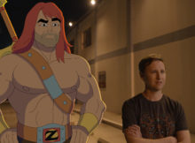 """SON OF ZORN:  L-R:  Zorn (voiced by Jason Sudeikis) and Johnny Pemberton in the """"The Weekend Warrior"""" episode of SON OF ZORN airing Sunday, Oct. 16 (8:31-9:00 PM ET/PT on FOX).  ©2016 Fox Broadcasting Co.  Cr:  FOX"""