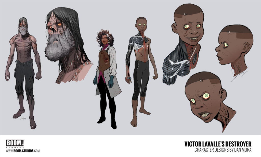 Destroyer Character Designs by Dan Mora