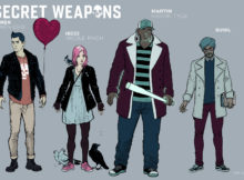 SECRET WEAPONS #1 – Character Designs by Raul Allen with Patricia Martin