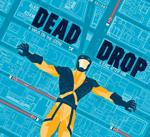 Four issues. Four stories. One ticking clock. The countdown to DEAD DROP begins this May!