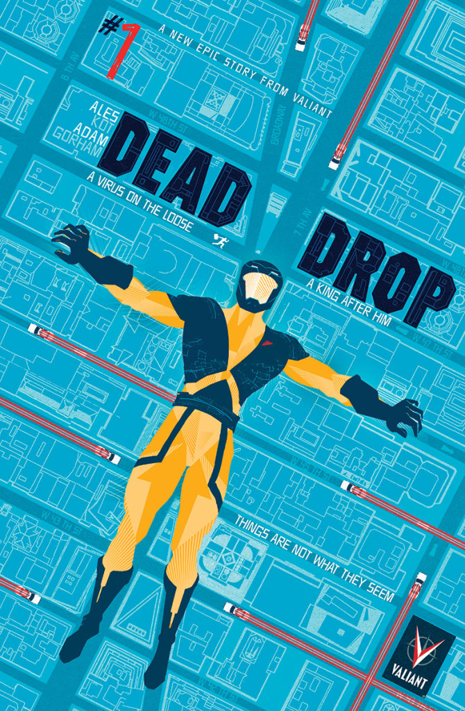 DEAD DROP #1 (of 4) – Cover A by Raul Allen