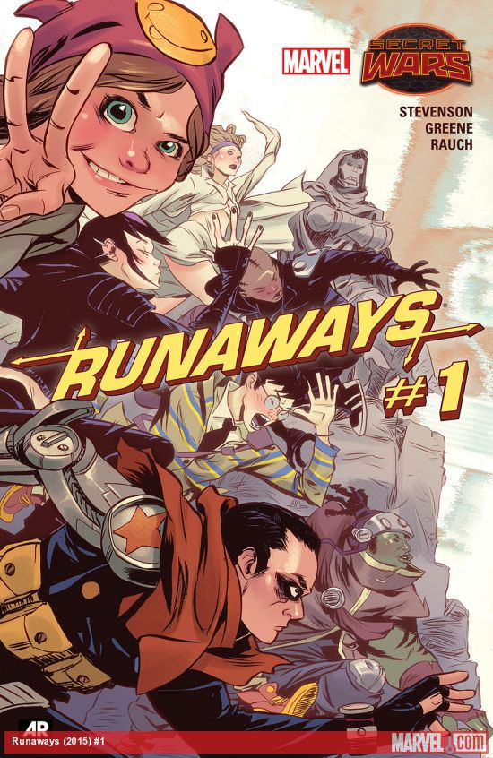 Secret Wars Runaways #1 2015 cover