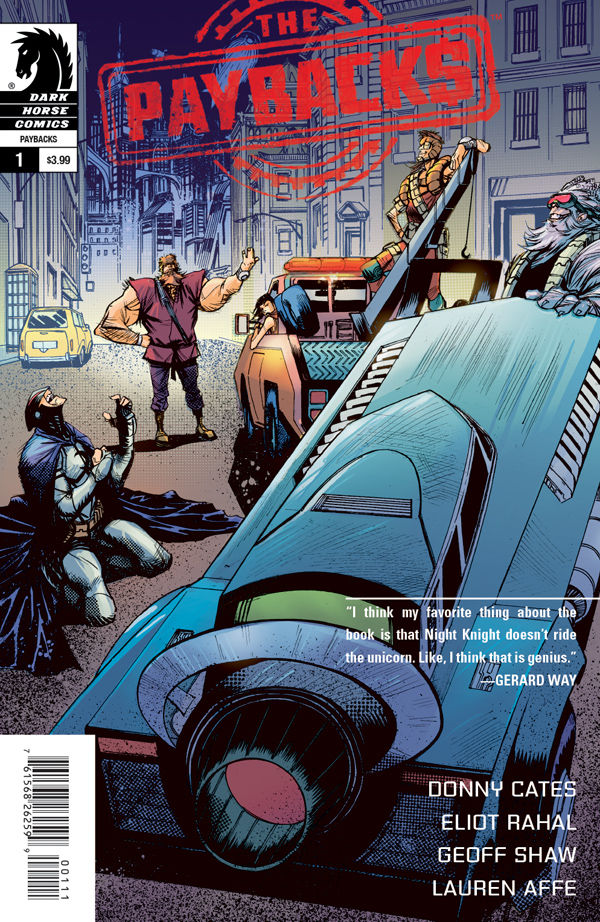 The Paybacks #1 2015 cover