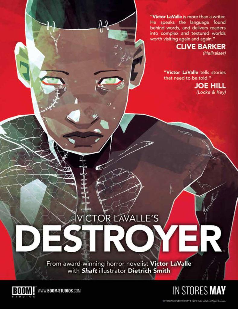 Destroyer Illustration by Micaela Dawn