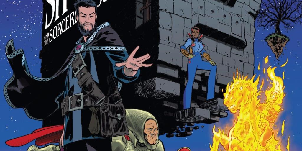 Doctor Strange and the Sorcerers Supreme #5 cover header